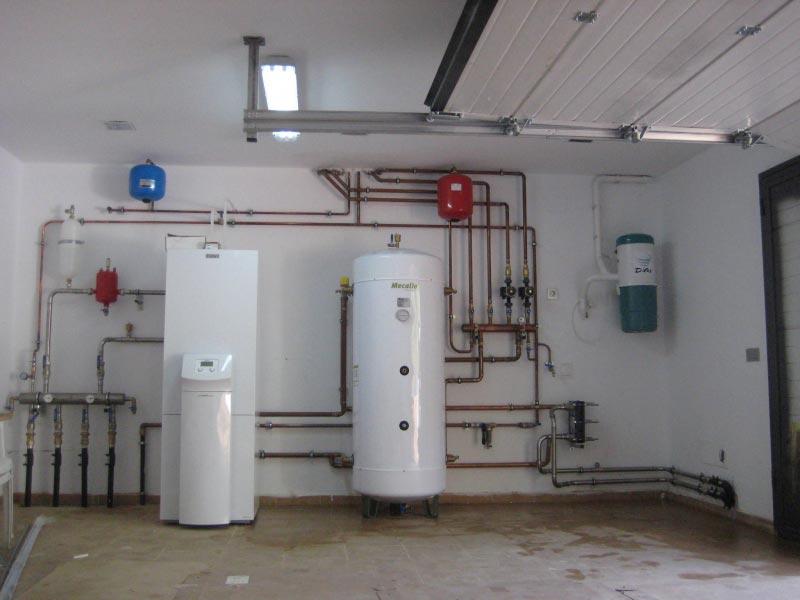 Geotermia climatizacion piscina for Calefaccion por aerotermia