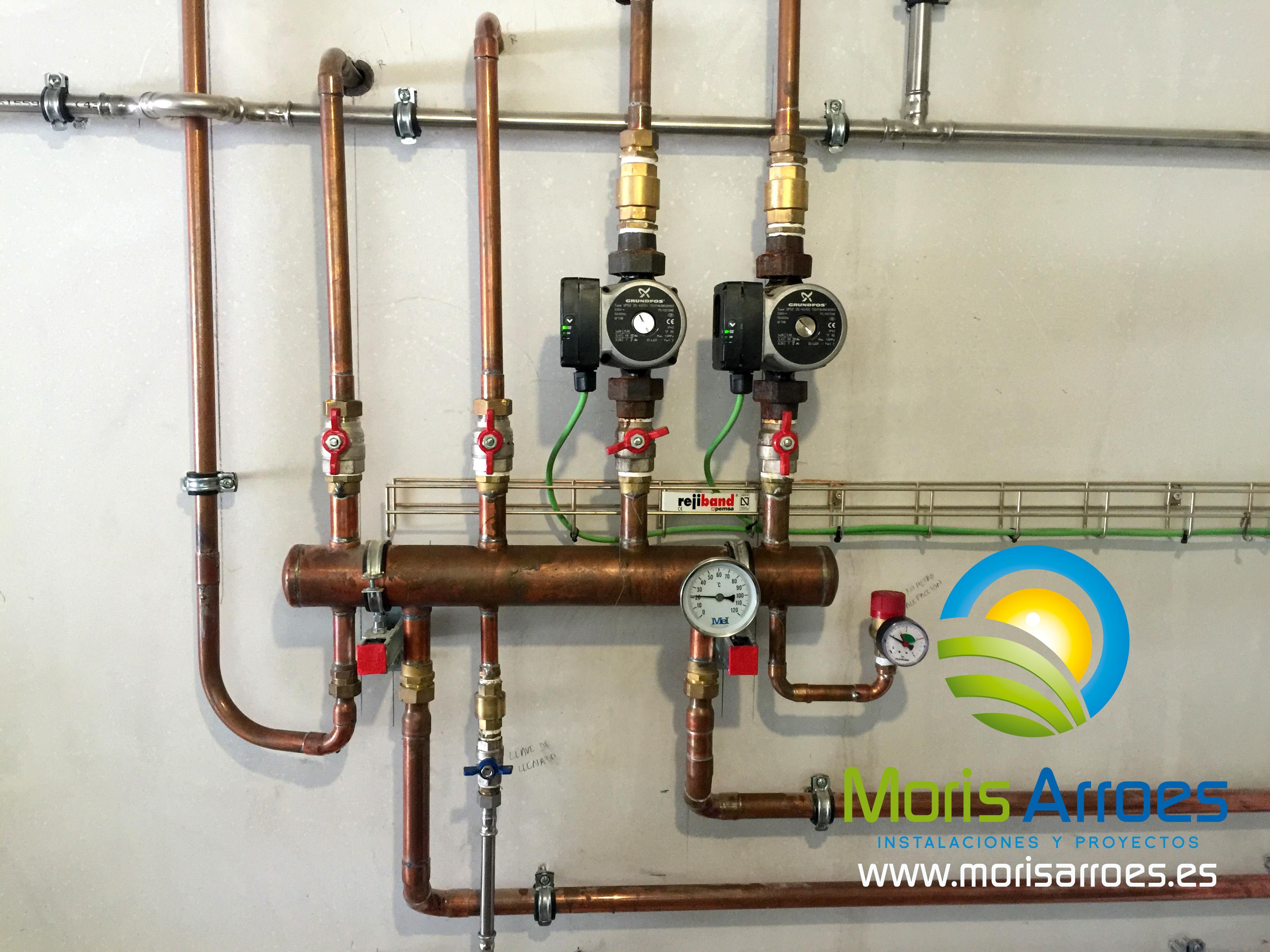 Colector aerotermia calefacci n asturias mor s arroes for Calefaccion por aerotermia