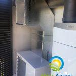 Arotherm y recovair en Passivhaus LA Colondra