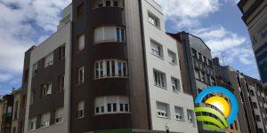 Edificio con Aerotermia en Gijón para mejora de Calificación Energética