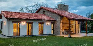 Vivienda Passiv Haus con Aerotermia y Recuperación de Calor