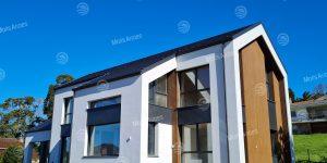 Vivienda Passiv Haus con Aerotermia y Recuperación de Calor Climatizada por Conductos